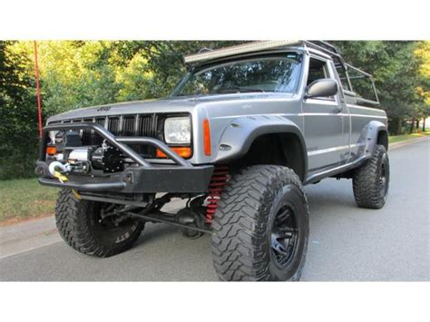1986 jeep comanche lifted jeep comanche baddest on the planet 360v8 fuel injected