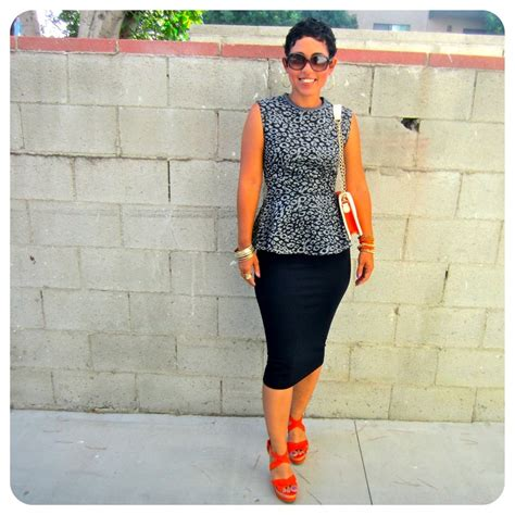 peplum shirt and diy pencil skirt learning to sew