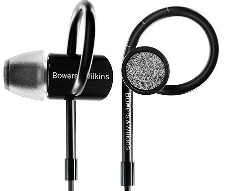Bowers Wilkins In Ear Headphone C5 S2 Black b w c5 s2 in ear headphones free next day delivery
