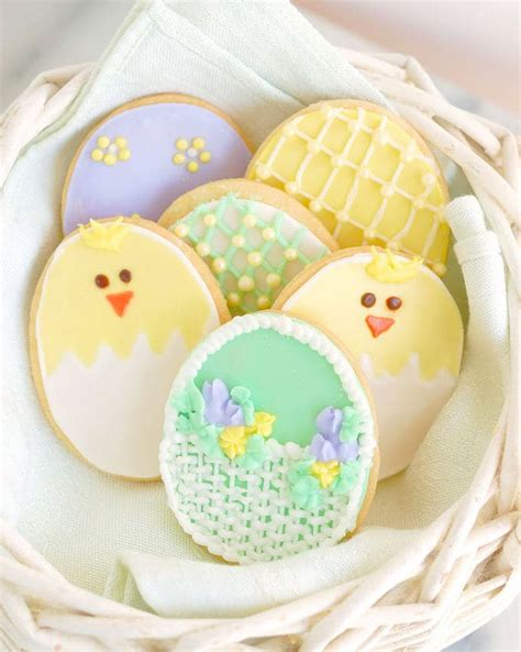 decorated easter cookies decorated sugar cookies for easter baking sense