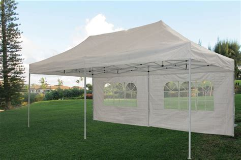10 By 20 Canopy Tent - 10 x 20 pop up tent canopy gazebo w 6 sidewalls 9 colors