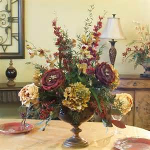 Dining Room Table Floral Arrangements Rose Orchid Amp Delphinium Silk Flower Arrangement Ar106