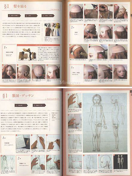 jointed doll guide book jointed doll tutorial doll bjd guide