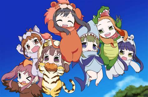 Nanami Tgn Pendek 1 quot up quot dapatkan seri anime spin maskot binatang lucu