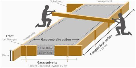 Kosten Streifenfundament Fertiggarage by Bodenplatte Gartenhaus Preis My