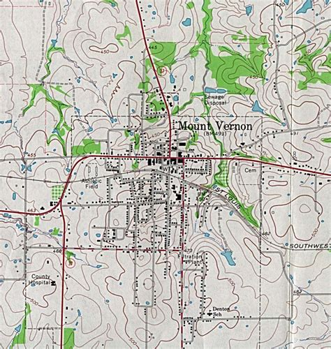 mount vernon texas map muleshoe topographic maptech