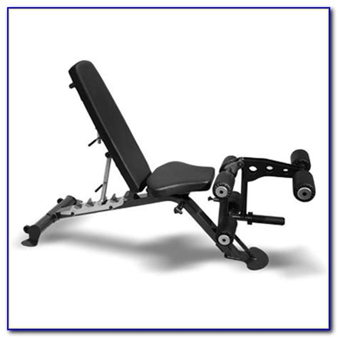 weight bench with leg extension cap barbell standard weight bench and leg extension black