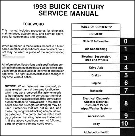 buick park avenue 1999 owners manual download free full download of 2001 buick park avenue