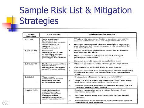 Project Risk Management Ppt Video Online Download Construction Risk Mitigation Plan Template