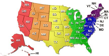 Usa Abbreviations Map Game