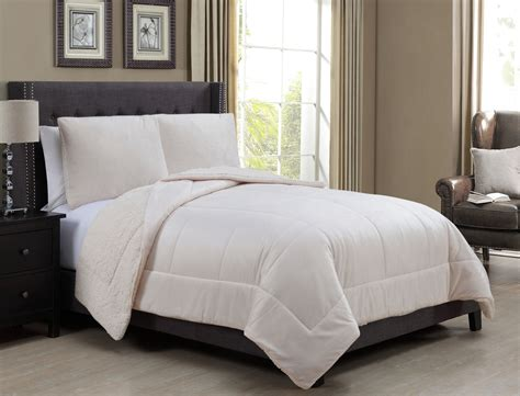 sherpa bedding sherpa bedding 28 images vcny solid micro mink sherpa bedding comforter set 4