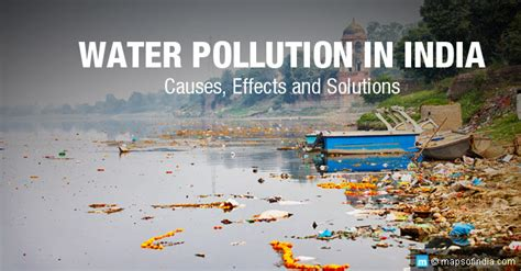 Causes And Effect Of Water Pollution Essay by Water Pollution In India Causes Effects Solutions My