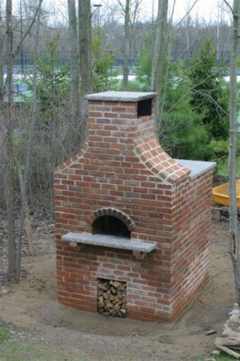 build a brick oven backyard building outdoor brick pizza oven ideas for my yard