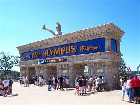 theme park entrance mt olympus water theme park