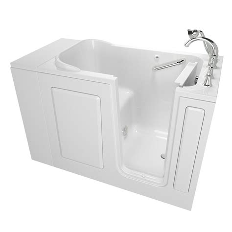 Walking Bathtub by Bootz Industries Kona 4 1 2 Ft Left Drain Soaking