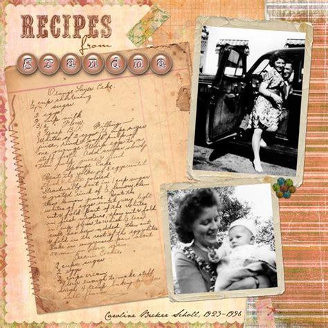 scrapbook layout recipe pin by brandie homecookingmemories on food recipe
