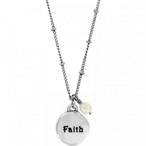 faith faith necklace necklaces