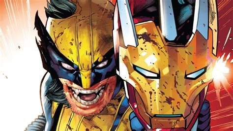 wolverine killed iron man zoom comics daily comic book wallpapers
