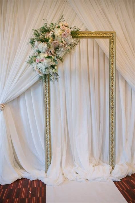 Wedding Backdrop Frame by 607 Best Images About Ceremony Aisle Style On