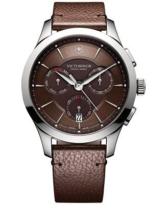Swiss Army Sa0080 Black Ring Rosegold victorinox swiss army s swiss chronograph alliance brown leather 44mm 241749