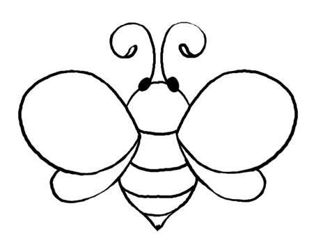 honey bee template baby bees house bee templates
