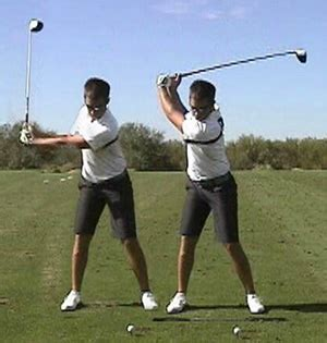 shoulder turn in the golf swing backswing