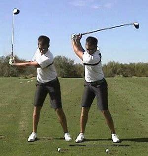 shoulder turn golf swing backswing