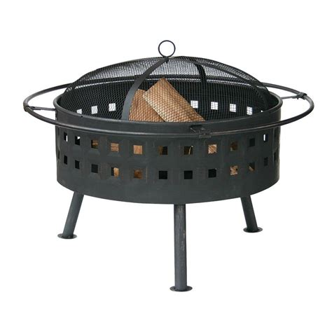 Uniflame Firepit Uniflame 24 In Aged Bronze Pit Wad997sp The Home Depot