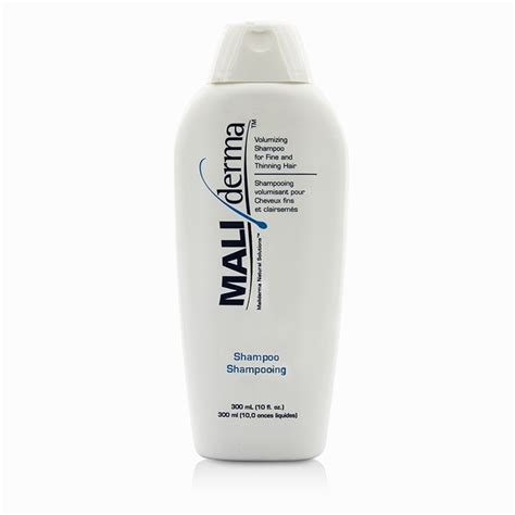 volume products fine hair maliderma volumizing shoo for fine and thinning hair