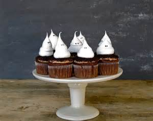 jenny steffens hobick halloween cupcakes ghost meringue cupcakes
