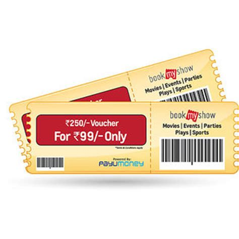 bookmyshow event coupons bookmyshow vouchers coupons pk movie offers