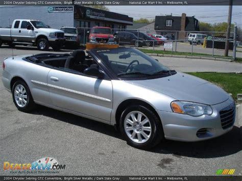 2004 Chrysler Sebring Gtc Convertible by 2004 Chrysler Sebring Gtc Convertible Bright Silver