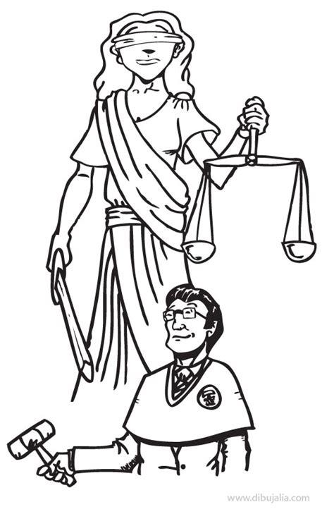 imagenes de justicia social para colorear ley y justicia dibujalia dibujos para colorear