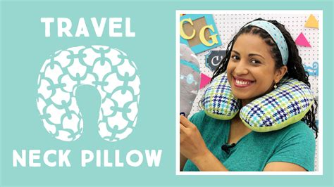 Make Your Own Travel Pillow by Cuddle Travel Neck Pillow Sewciety Cuddle Corner