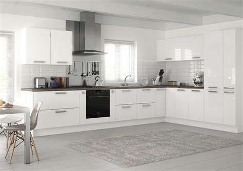 White And Black Kitchen Ideas by White Gloss Kitchens Gloss Cabinet Door Montana Kitchens