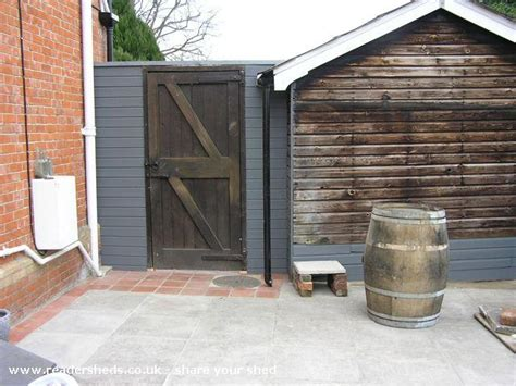 Shed Renovation by Renovation Shed Workshop Studio From Devizes Owned By
