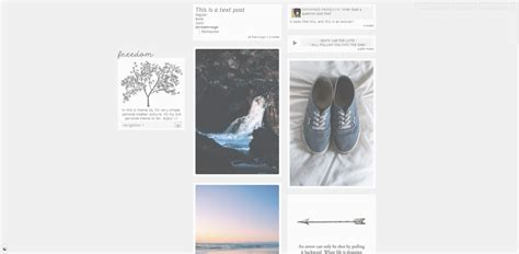 themes tumblr site themes by awkward pengu1n free tumblr themes