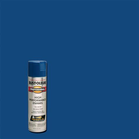 home depot spray paint blue rust oleum professional 15 oz gloss royal blue spray