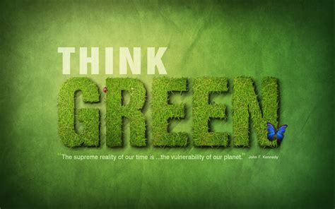 Think Green think green by scillamonster on deviantart