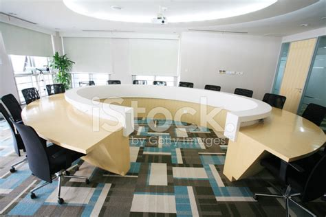Circle Meeting Table Boardroom Table Stock Photos Freeimages