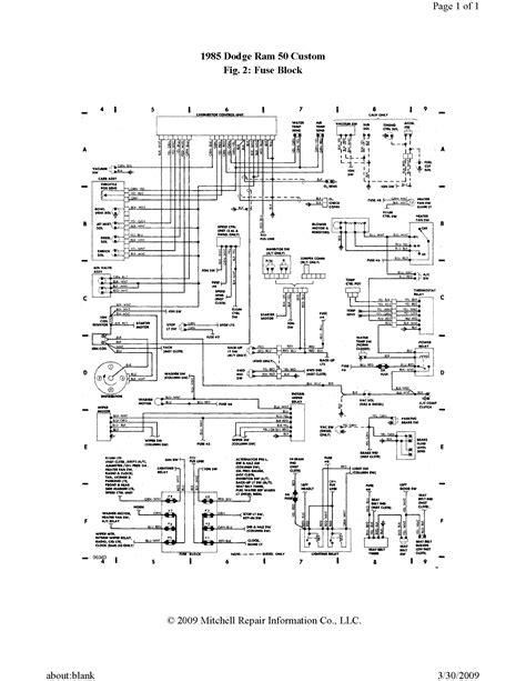 igintion wiring diagram  dodge ram