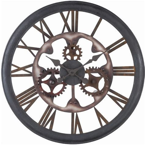 Five Star Cooktops Home Accents Wall Clock By Ashley Furniture Park Home