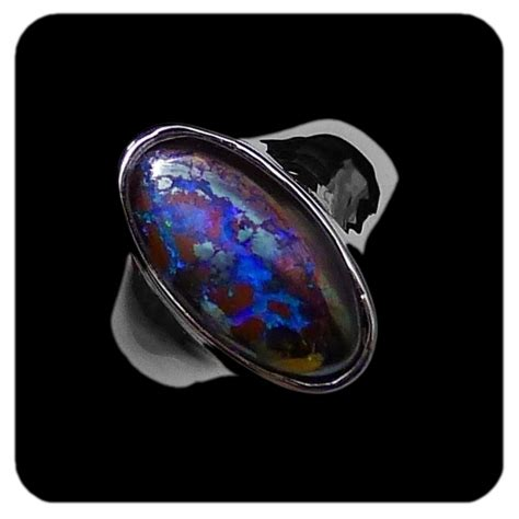 matrix opal ring 30 best images about boulder opal rings on pinterest