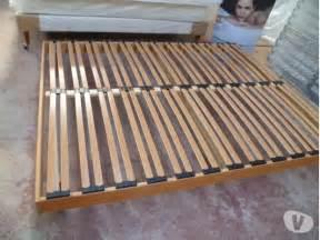 cadre lit bois sommier clasf