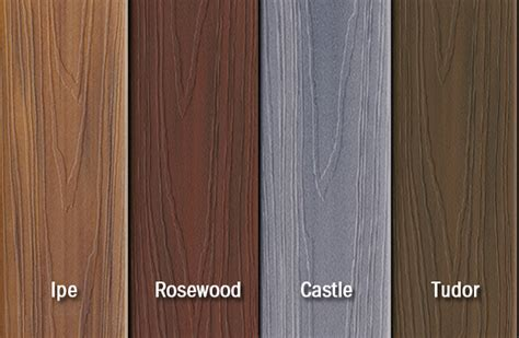 fiberon horizon introduces new multichromatic composite decking colors castle and tudor