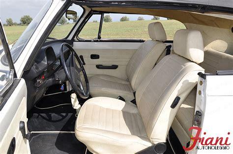 interni maggiolone volkswagen maggiolone cabrio int avorio fiani