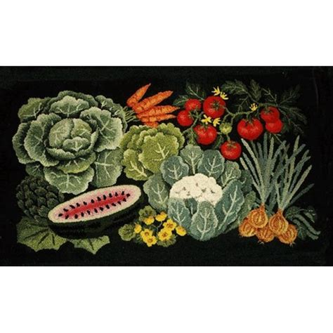 Vegetable Kitchen Rugs Handmade Floral Garden Design Rugs In Island Ny The Ruggery
