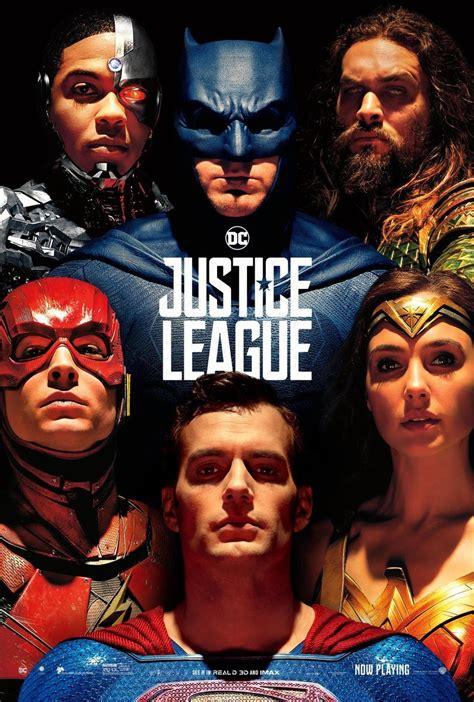 quando esce il film justice league justice league ecco il poster completo ispirato ad alex