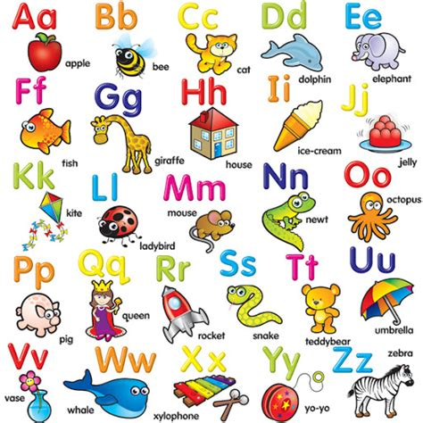 imagenes del alfabeto ingles abecedario ingles con imagenes