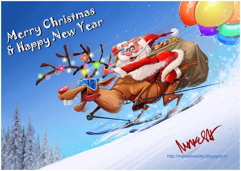 mahesh nambiar merry christmas happy  year